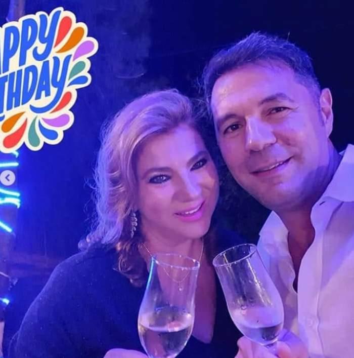Mihaela Borcea alături de noul iubit