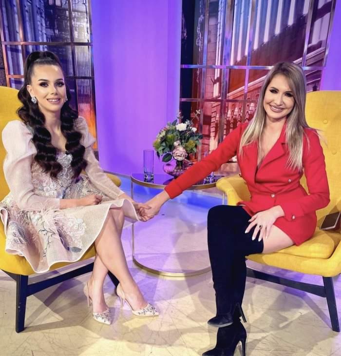 georgiana Lobont a dat un interviu cu un reporter Antena Stars