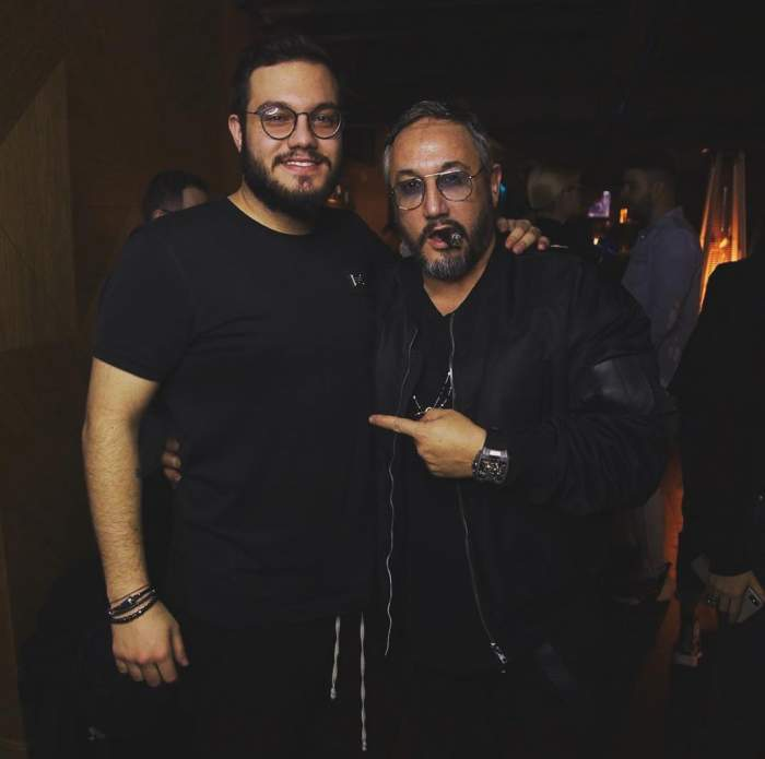 Vincent Castellano și tatăl spu s-au fotografiat împreună