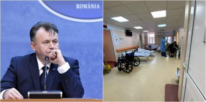 Colaj foto cu Nelu Tătaru și imaginea de la Matei Balș