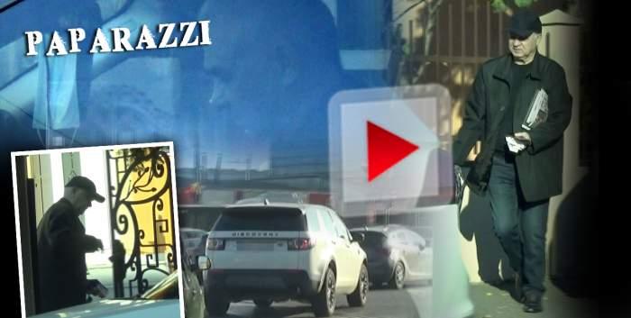 """Anghel Iordănescu și regulile de circulație, la cuțite! """"Tata Puiu"""", gafă după gafă în traficul din Capitală! Imagini de senzație cu """"Generalul"""" / PAPARAZZI"""