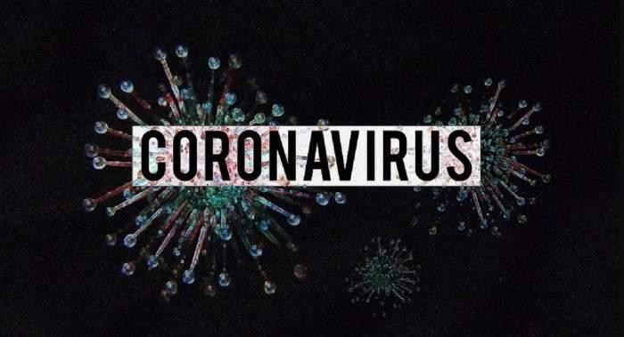 """Fotografie ilustrativă pe care scrie """"coronavirus"""""""