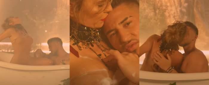 Anna Lesko și Bogdan Mocanu, ipostaze fierbinți în noul videoclip