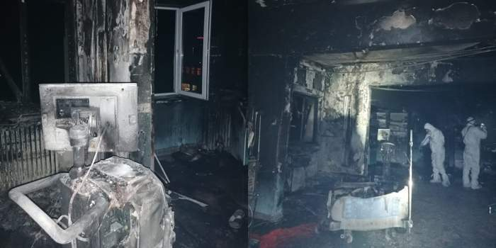 Incendiu la Piatra Neamț