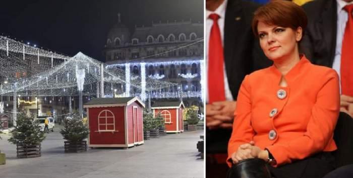 Târgul de Crăciun din Craiova a fost închis la doar o oră după inaugurare
