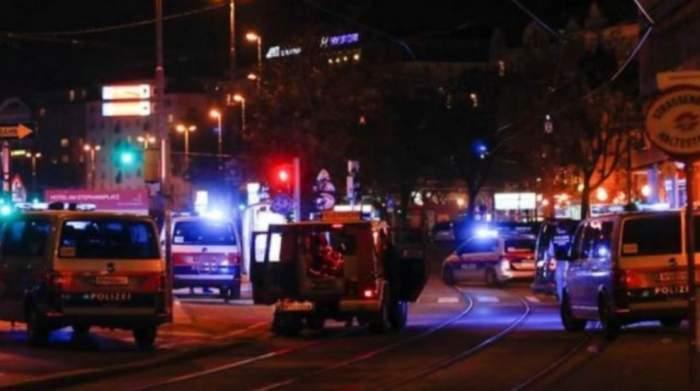 Bilanțul atacului terorist din Viena! Trei civili au murit, dar și unul dintre atacatori. 15 persoane rănite se află în stare gravă la spital