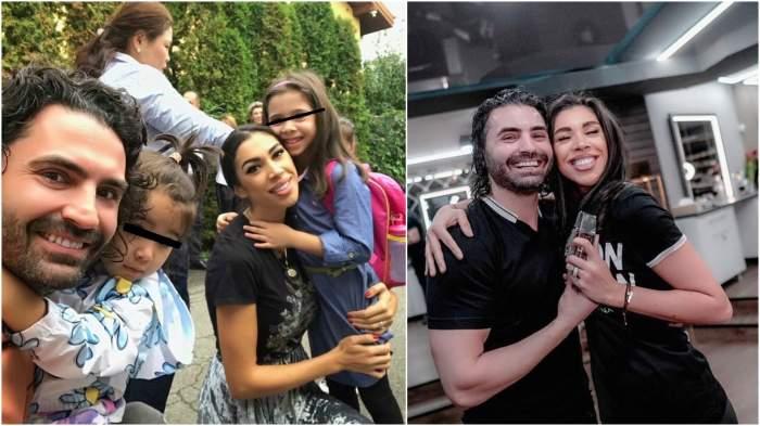 Colaj cu Raluca, Pepe și fiicele lor.