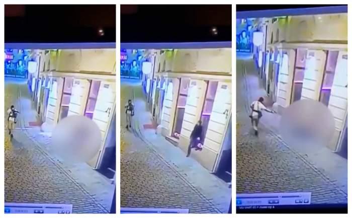 Imagini terifiante din timpul atentatului din Viena! Unul dintre atacatori împușcă fără milă un trecător / FOTO