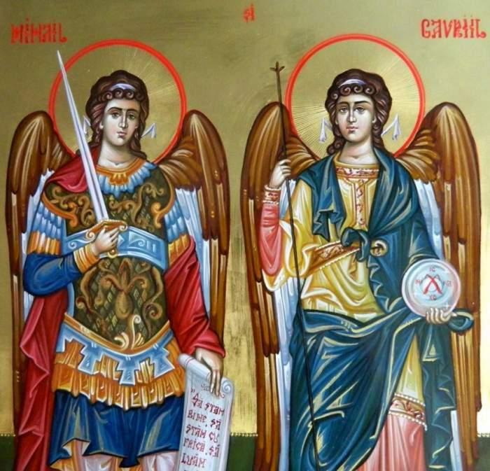 Sfinții Mihail și Gavril
