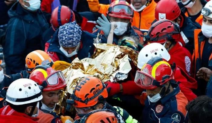 Miracol în Turcia! O fetiță de 4 ani a fost salvată de sub dărâmături, la 91 de ore după cutremur