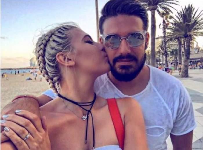 Sore il saruta pe orbaz pe Mircea, sunt la plaja