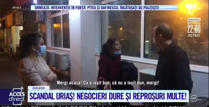 """Scandal monstru între Viorel Stegaru și mama lui! """"Ești tare în gură"""". Femeia îi cere bani pentru creșterea fetiței! / VIDEO"""