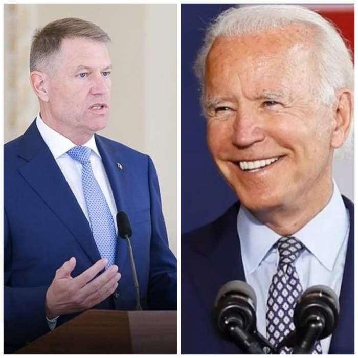 Mesajul lui Klaus Iohannis pentru noul președinte al Statelor Unite ale Americii, Joe Biden