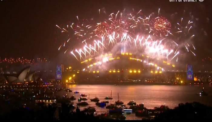 Celebrul foc de artificii de Revelion, din Sydney, va fi diferit în acest an! Cine va mai putea să vadă spectacolul de la miezul nopții!