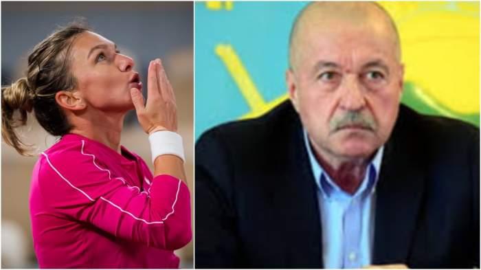 Colaj cu Simona Halep și Corneliu Idu.