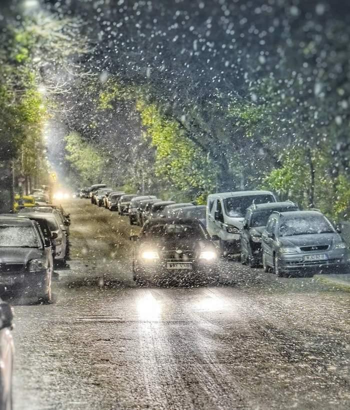 Anunț ANM! Se extinde codul galben de ninsori abundente și viscol. Ce zone ale țării sunt incluse