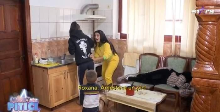 Roxana Vancea și și Elena Ionescu i-au făcut o farsă Sânzianei Buruiană