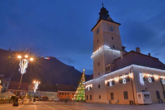 Vor fi doar 20 de căsuțe la Târgul de Crăciun din Brasov