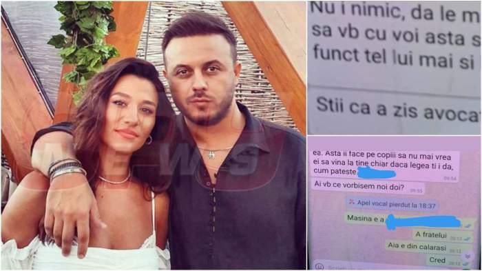 Colaj cu Claudia Pătrășcanu și Gabi Bădălău/ amenințările postate.