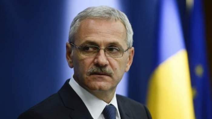 Liviu Dragnea în parlament