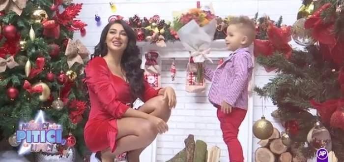 Elena Ionescu și fiul ei au făcut pzoe pentru Crăciun