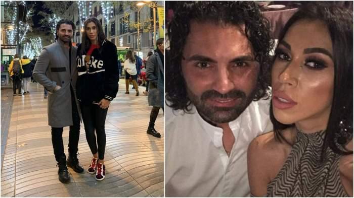 Colaj cu Pepe și Raluca Pastramă în perioada îm care formau un cuplu.