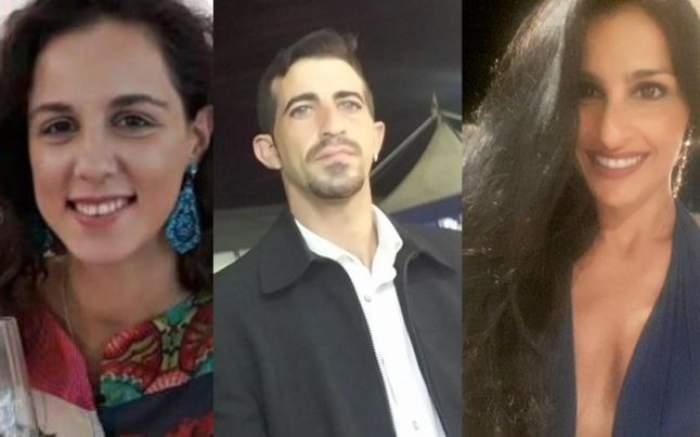 Victima, criminalul și iubita acestuia, prietena cea mai bună a femeii ucise