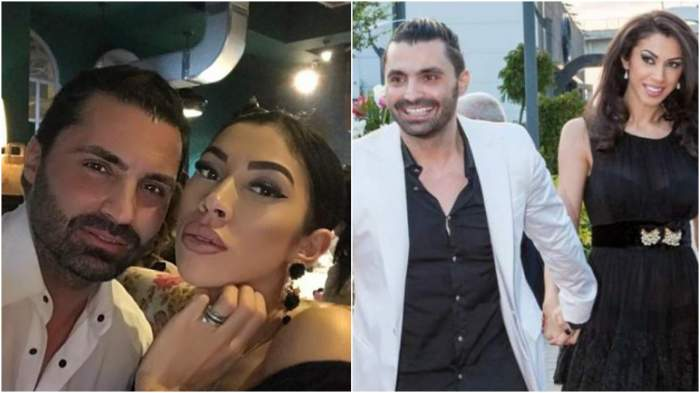Colaj cu Pepe și Raluca Pastramă în perioada în care formau un cuplu.