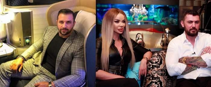 Bianca Drăgușanu și Alex Bodi, milionar turc, colaj