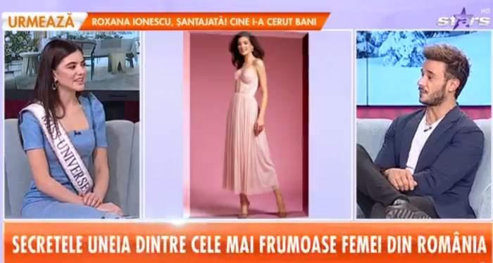 """Cu cine se iubește Bianca Tirsin, câștigătoarea Miss Universe România 2020! Frumoasa arădeancă are o relație cu un mare fotbalist: """"Am crescut împreună"""""""