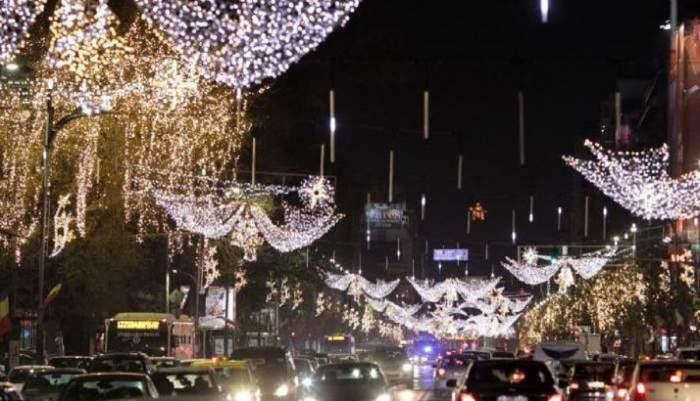 Primăria Bucureștiului spune că luminițele vor fi aprinse treptat