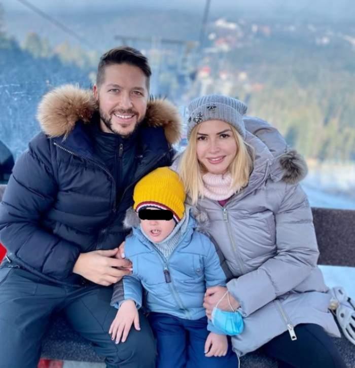 Jorge cu soția și fiul