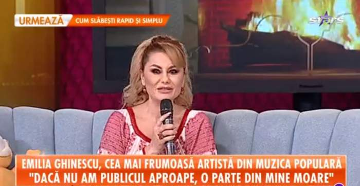 """Drama neștiută din copilăria Emiliei Ghinescu! Tatăl său vitreg a făcut-o să fugă de acasă, în toiul nopții. """"Îmi era frică"""""""