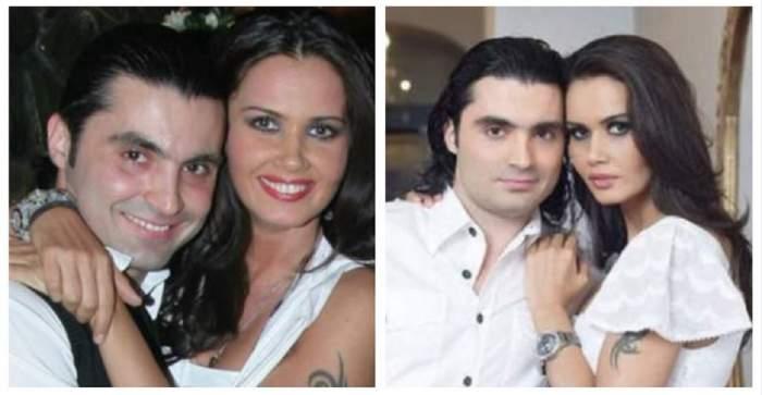 Un colaj cu Pepe și Oana Zăvoranu pe vremea când erau împreună. Cei doi se țineau în brațe.