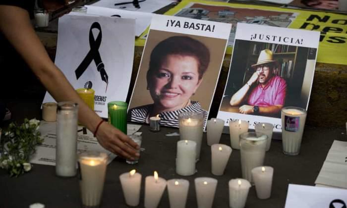 Comemorarea a doi jurnaliști uciși
