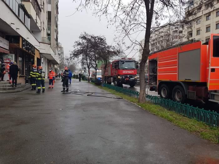 Incendiul de la casa de schimb valutar a avut loc la Ploiești
