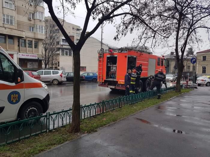 Pompieri în acțiune la Ploiești