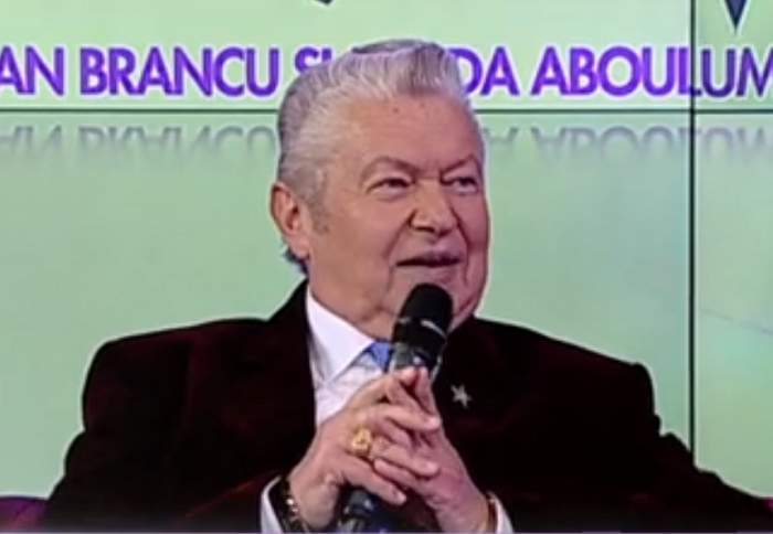 Gheorghe Turda în cadrul unei emisiuni TV.