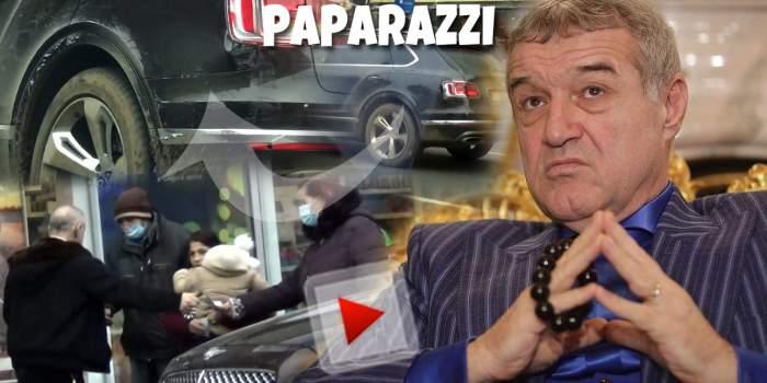 Gigi Becali, gest de omenie în Ajunul Crăciunului! Afaceristul nu a uitat de cei săraci nici când a rămas cu bolidul de lux avariat / PAPARAZZI