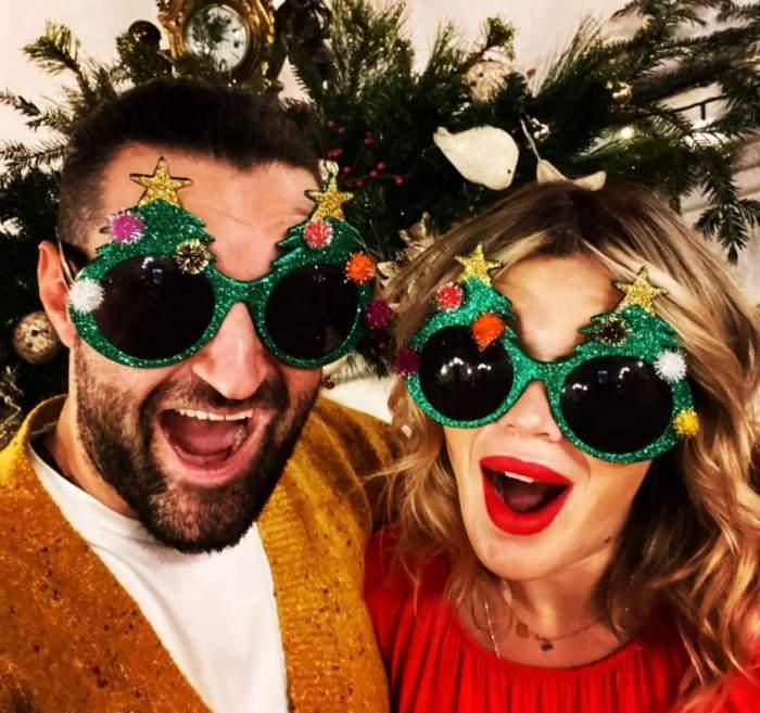 Smiley și Gina Pistol, mesaj de Crăciun pentru copilul lor! Ce i-au transmis cei doi părinți celebri bebelușului mult așteptat / FOTO