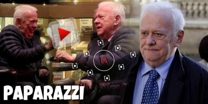 Viorel Hrebenciuc nu uită niciodată de marile plăceri! Cum a fost surprins fostul om politic, dar mai ales, în compania cui/ PAPARAZZI