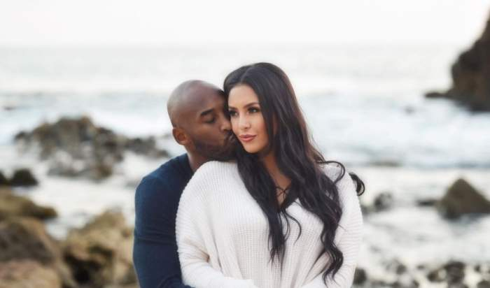 Kobe Bryant și soția lui, Vanessa
