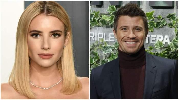 Emma Roberts si Garrett Hedlund sunt la gale diferite, sunt imbracati formal