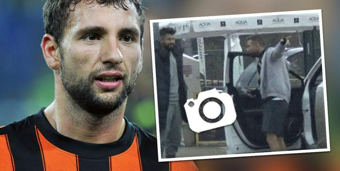 Pentru prieteni, uită de tot. Chiar și de semafor. Cum a fost surprins Răzvan Raț în goana de a ajunge la un meci de fotbal / PAPARAZZI