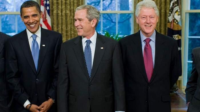 Obama, Bush și Clinton