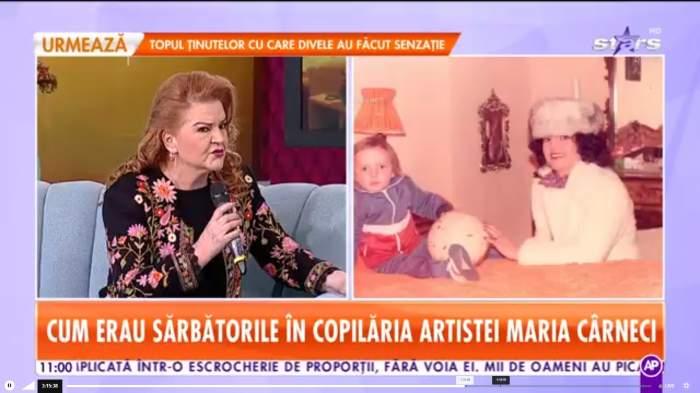 """Cum erau Sărbătorile în copilăria Mariei Cârneci. """"Cumpăram câte 500 de covrigi"""""""