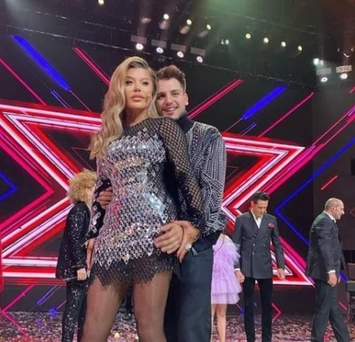 Loredana și Adrian Petrache pe scena XF actor
