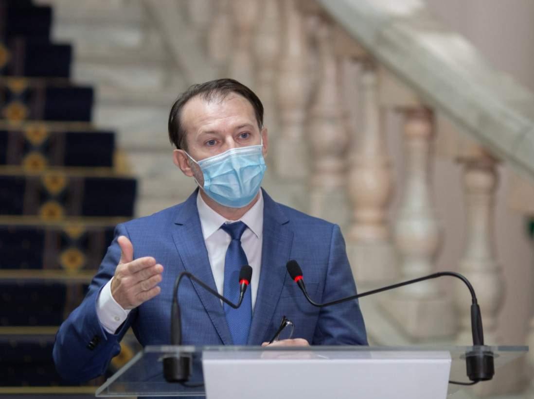 Premierul Florin Cîțu în Parlament