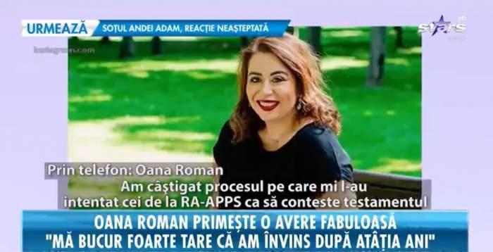 """Oana Roman a câștigat procesul împotriva statului român! Pe ce bogății a reușit să pună mâna fiica fostului premier: """"Este o victorie importantă"""""""