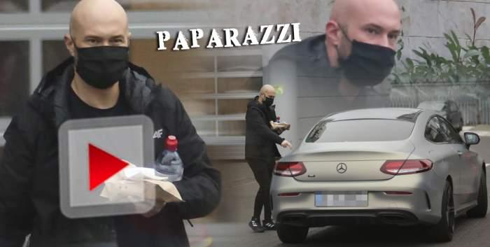 Mihai Bendeac nu este deloc pretențios! Actorul și-a luat mașină de zeci de mii de euro, dar a înlocuit mâncarea de la restaurantele de fițe cu cea din... benzinărie! / PAPARAZZI